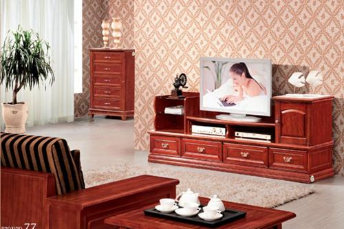 中式客厅电视柜